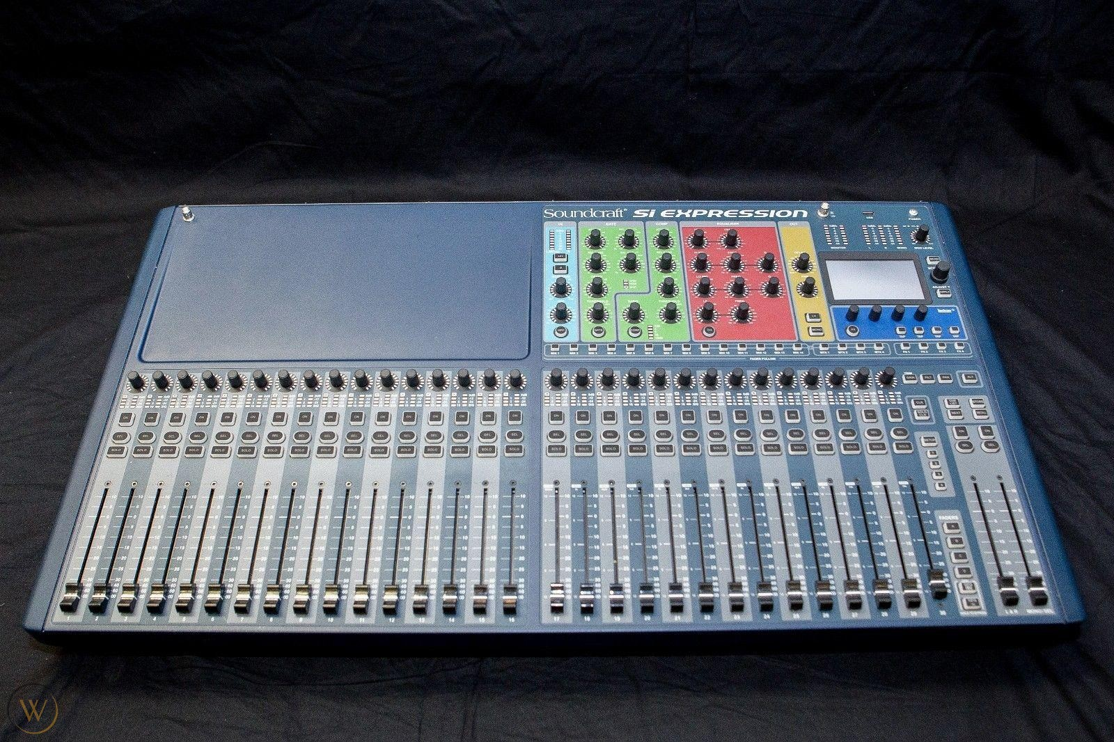 Soundcraft Si Expression 3 Open Box Full Factory Warranty Bnc Electronics