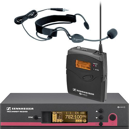 Sennheiser EW152 G3 Wireless Bodypack Microphone System with ME3 Headset Mic
