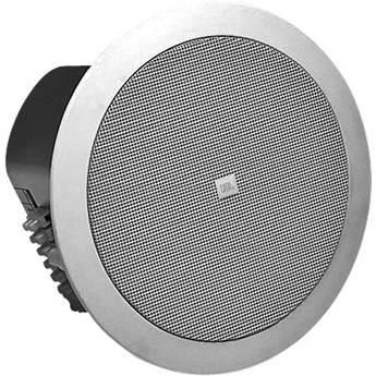 "JBL CONTROL-24 CT 4"" 2-Way Ceiling Speaker with 70V/100V Transformer in White PAIR"