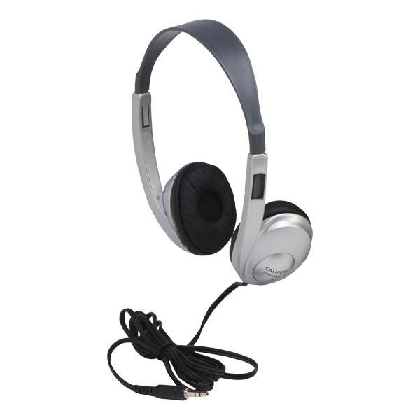 Califone 3060AVS Silver Multimedia Stereo Headset