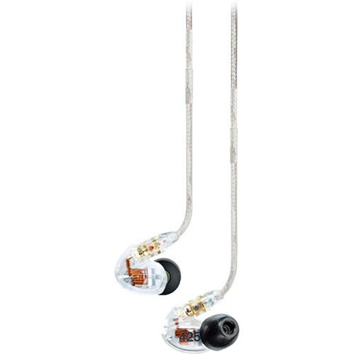 Shure SE425CL Sound-Isolating In-Ear Stereo Earphones (Clear)