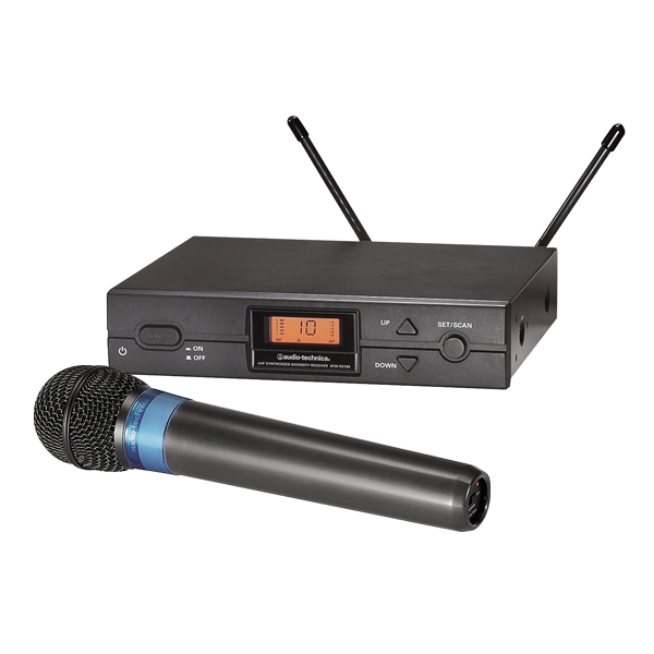Audio-Technica 2000 Series UHF Wireless Handheld Microphone System