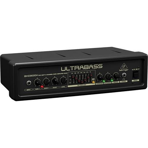 Behringer ULTRABASS BXD3000H Bass Amplifier Head