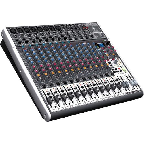 FREE SHIPPING! Behringer XENYX Q1202USB 12-Input, 2-Bus Mixer with USB Output