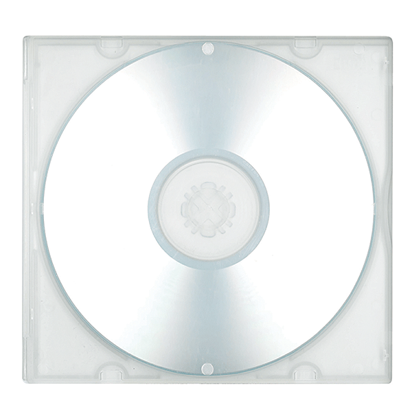 Clear CD/DVD Poly Case