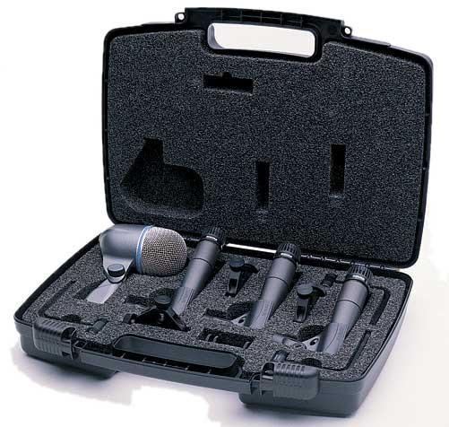 Shure DMK57-52 Drum Microphone Package