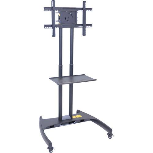 H .Wilson  FP2750 Series Adjustable Height LCD/LED TV Stand with Shelf