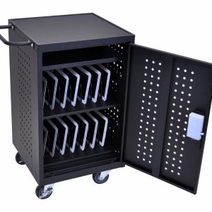 Luxor LLTM30-B-RFID - 30 Tablet Charging Cart