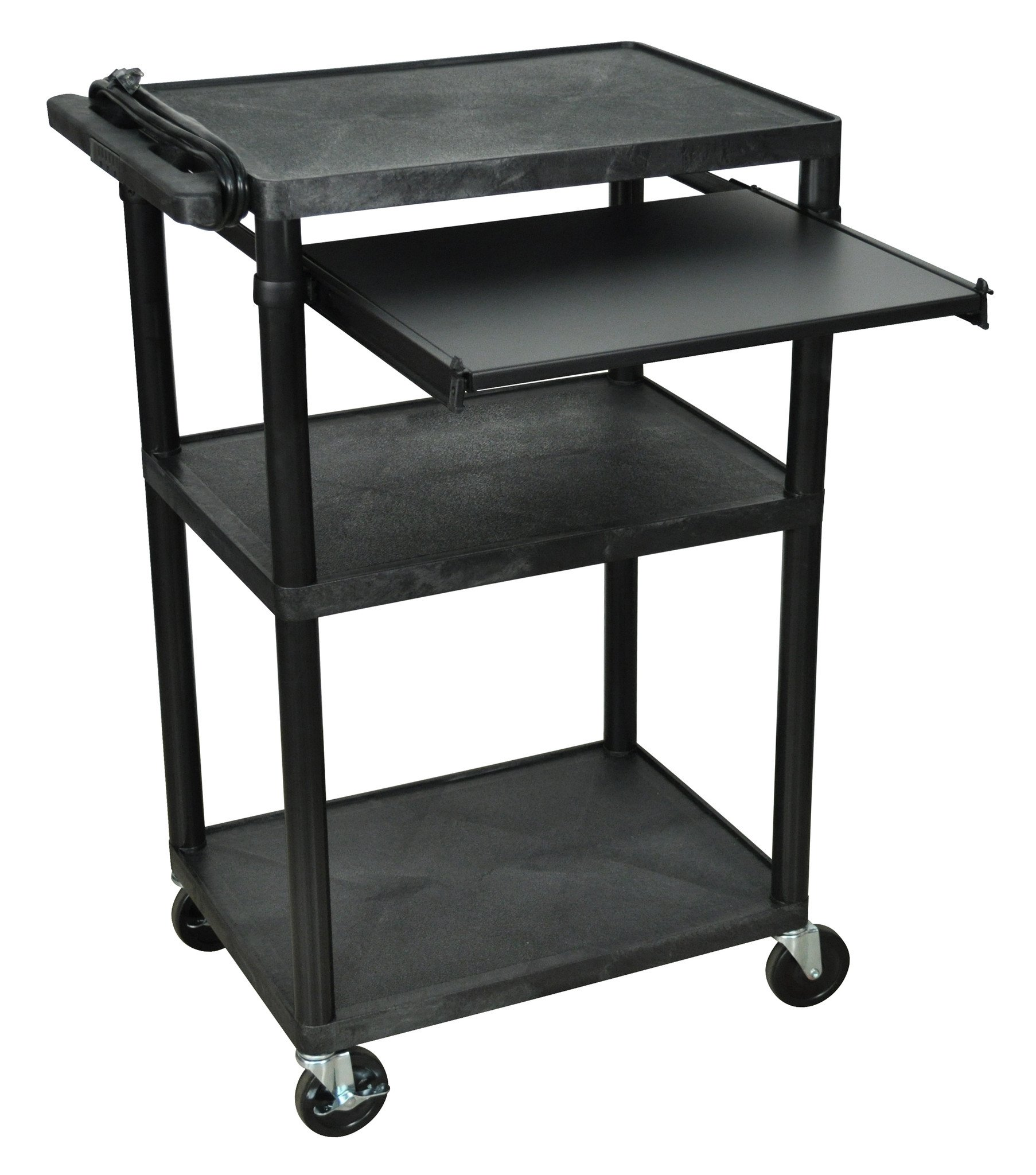 Luxor LP42LE-B - AV Carts 3 Shelves