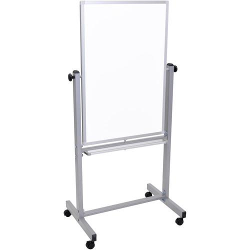 "Luxor L270 Mobile Magnetic Reversible Whiteboard (24 x 36"")"
