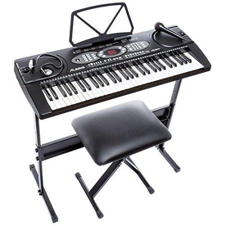 Alesis Melody 61 - 61-Key Portable Keyboard with Accessories Kit