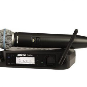 Shure GLXD24 Beta58A Digital Handheld Wireless Mic System