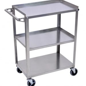 Luxor SSC-3 - Stainless Steel 3 Shelf Cart