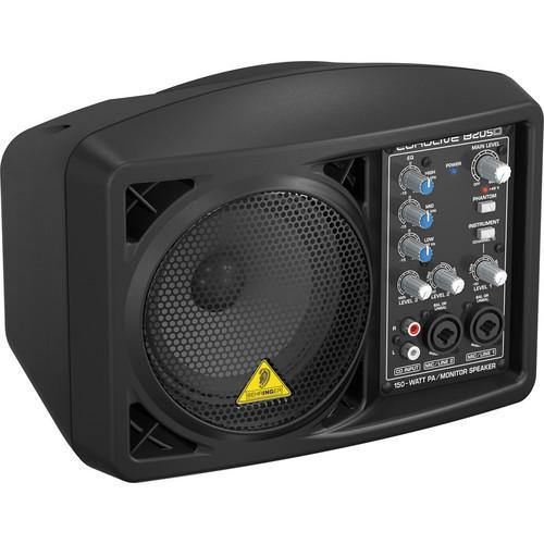 Eurolive B207mp3 Active PA 150 Watt PA and Monitor Speaker System