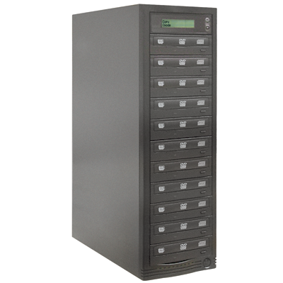 BnC One-To-Eleven DVD/CD Duplicator with Built-in 320 Gig Hard Drive