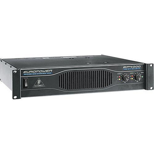 Behringer EP4000 Professional Power Amplifier (750W/Channel @8 Ohms)