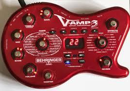 Behringer V-AMP3 Guitar Amp Modeler and Multi-Effects Processor