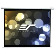 Elite Screens Electric120V Spectrum Series Projector Screen - 4:3