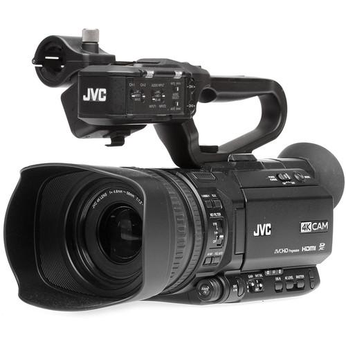 JVC GY-HM250 UHD 4K Streaming Camcorder with Built-in Lower-Thirds Graphics FREE SHIPPING!