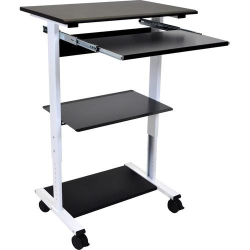 Luxor STAND-WS30 - Three-shelf Adjustable Stand Up Workstation
