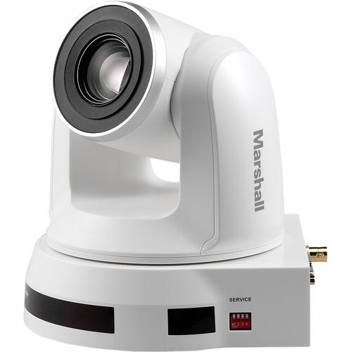 Marshall Electronics CV620 2MP Full HD Broadcast PTZ Conference Camera with NDI (White)