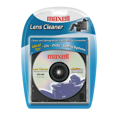 Maxell CD/DVD Lens Cleaner