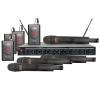 Nady U81 Lavalier and Handheld Professional 8-Channel UHF Wireless Mic System