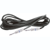 """100' 1/4"""" to 1/4"""" Speaker Cable in Black"""