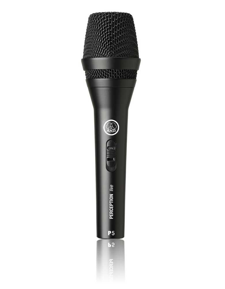 AKG D5S Dynamic Vocal Microphone, with On/Off Switch