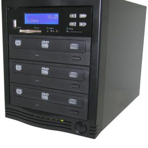 BnC PFDVD3 Pro Flash USB/Memory Card Duplicator and Backup System