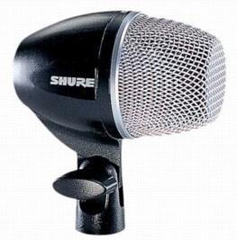 Shure PG52LC Cardiod Dynamic Kick Drum Microphone