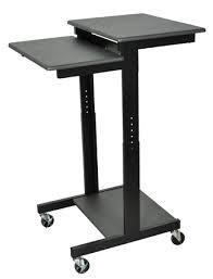 Luxor PS3945 - Mobile Adj Height Presentations Workstation