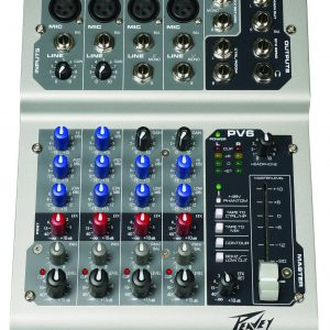 Peavey PV6  6 Channel Compact Mixer