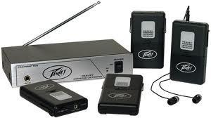 Peavey ALS4 Assisted Listening System with Six Receivers