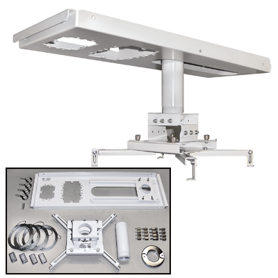 BnC  Suspended Ceiling Video Projector Mount Kit