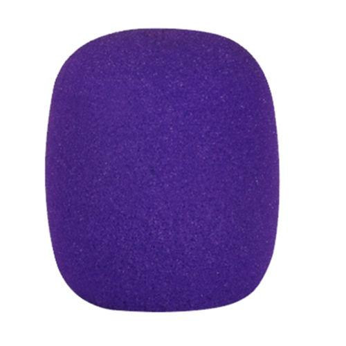 Purple Foam Microphone Windscreen