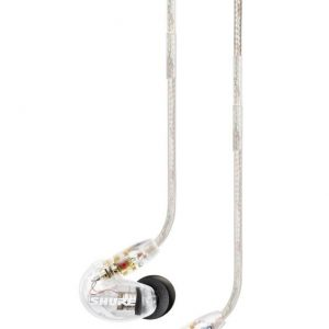 Shure SE215-CL Sound Isolating Earphones in Clear