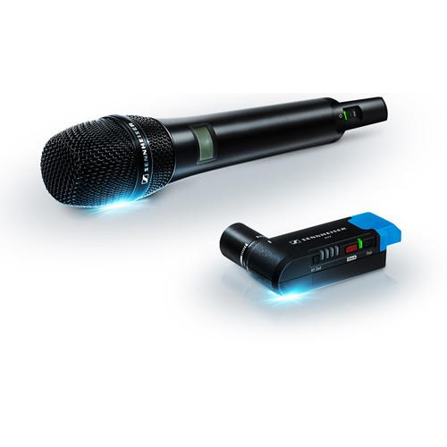 Sennheiser AVX Camera-Mountable Digital Handheld Wireless Microphone Set