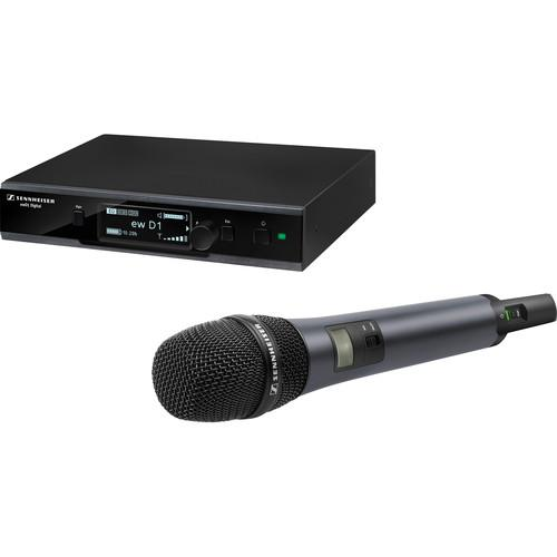 Sennheiser ew D1-835-S Digital Wireless Vocal Set with Handheld Transmitter & e835 Cardioid Capsule