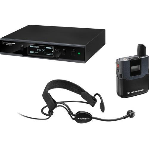 Sennheiser ew D1-ME3 Digital Wireless Headworn Mic Set with ME 3-II