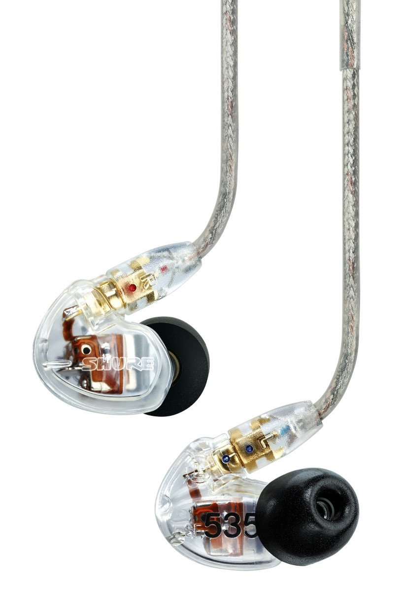 ShureSE535CL Sound Isolating™ Earphones Clear