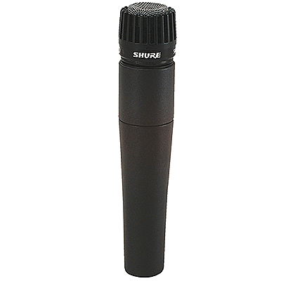Shure SM57-LC® Dynamic Cardioid Instrument Microphone