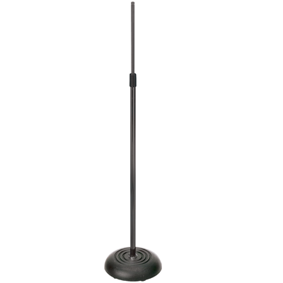Black Finish Adjustable Microphone Stand