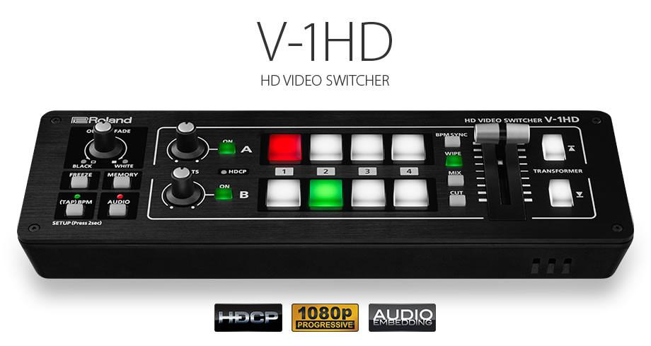 Roland V-1HD HD Video Switcher FREE SHIPPING!