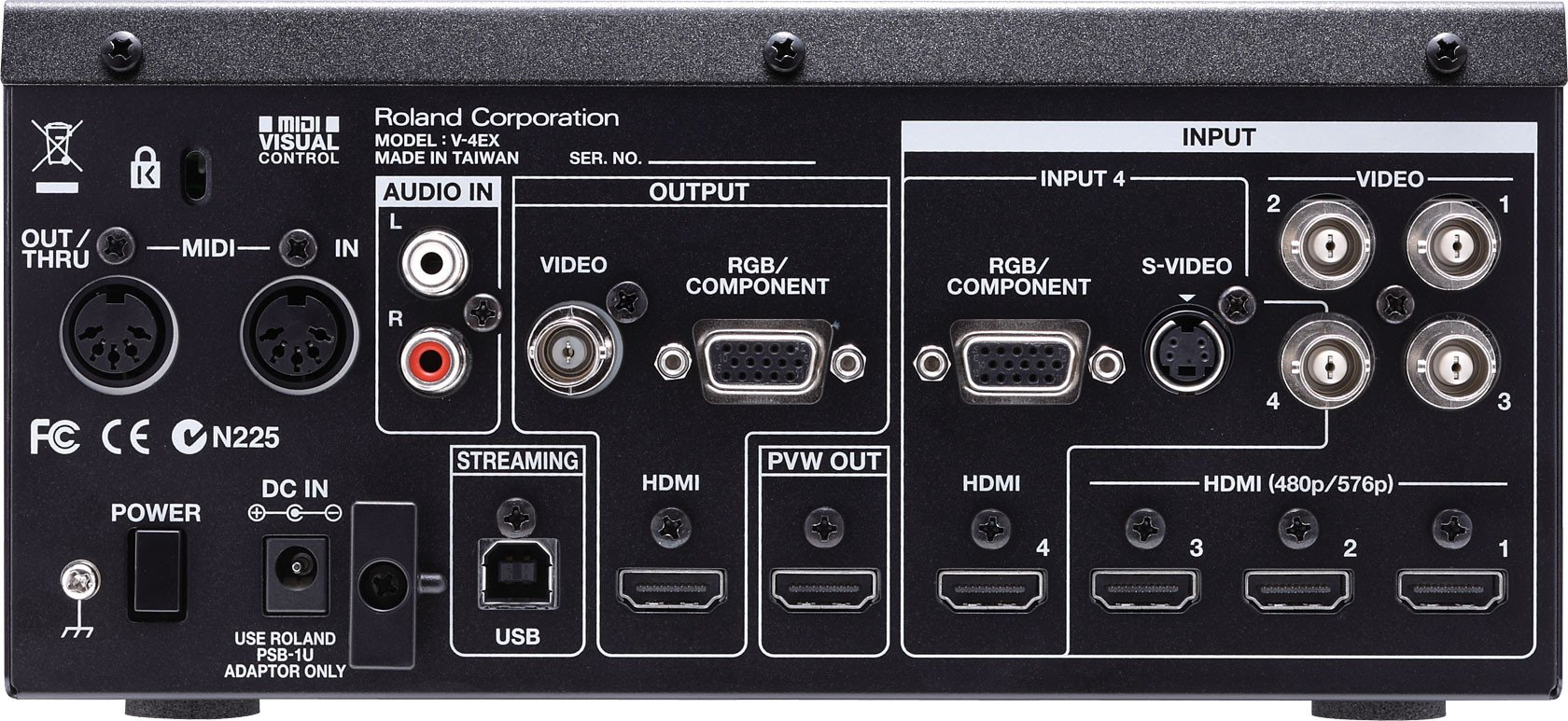 Roland V-4EX Four Channel Video Mixer FREE SHIPPING!