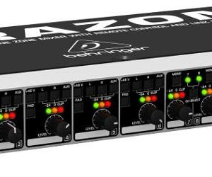 Behringer ULTRAZONE ZMX8210 8-Channel, 3-Bus Microphone/Line Zone Mixer